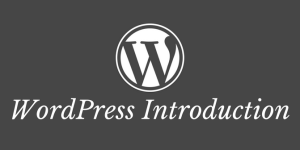 wordpress introduction lesson