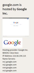 google hosting test