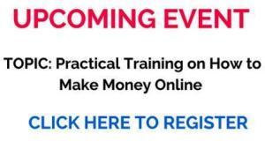 make money online event