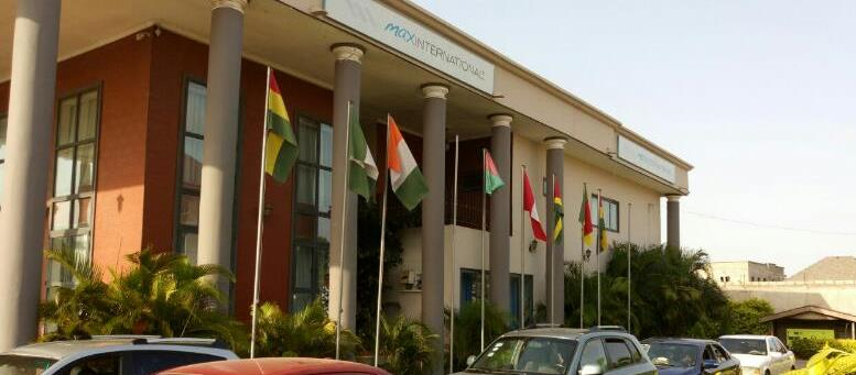 Max international office in East Legon, Accra