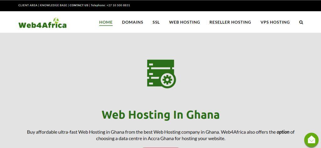web 4 africa web hosting