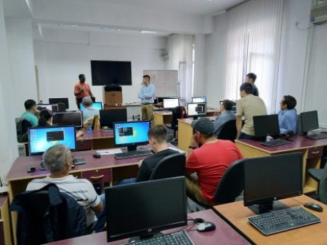 Training the next generation of network engineers in Kyrgyzstan