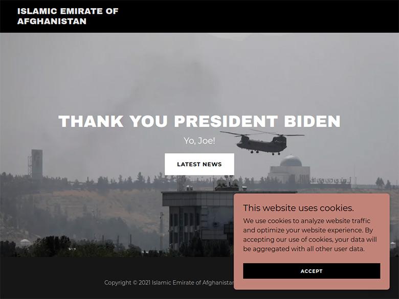 Matching .com #domain taunting Joe Biden :DomainGang