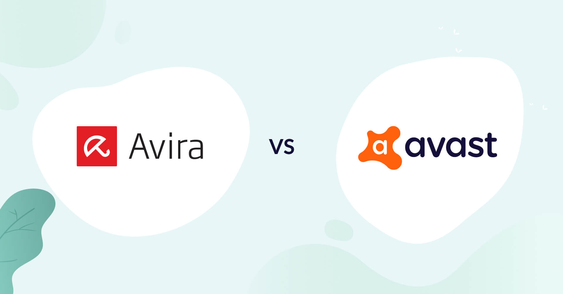 avira logo vs avast logo antivirus comparison header for how to choose article