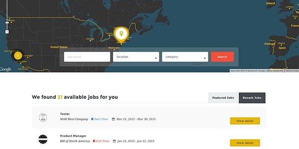 Job Board Integration for Websites