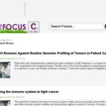 cancerfocus org website cancer forums and newscancerfocus org