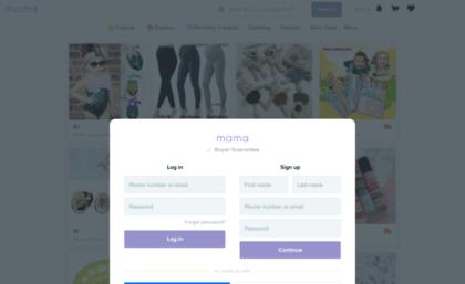 Mamawishcom Website Mama Thoughtful Shopping