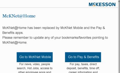 mcknet at home