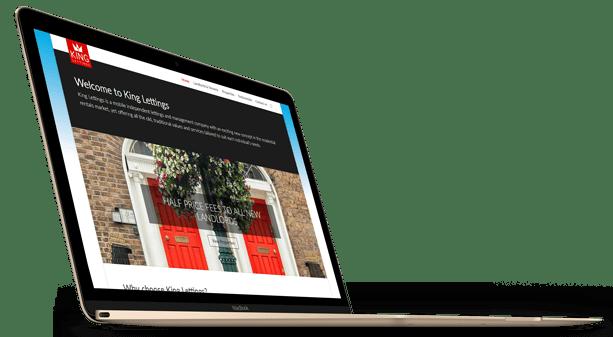 King-Lettings Macbook visual