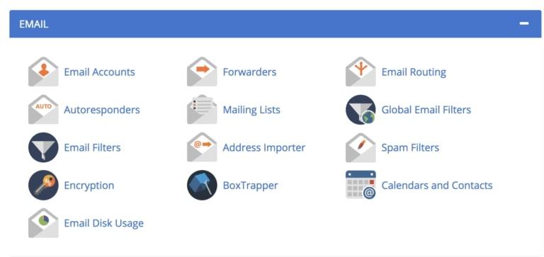 Bluehost e-mail