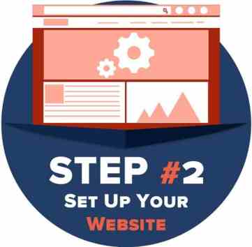 Step 2 - set up your website: How to Create a Website in Cameroon Simple Guide