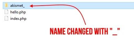 name changed