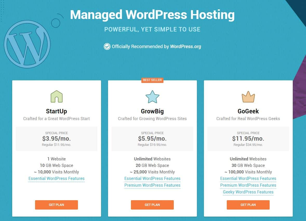SiteGround WordPress hosting