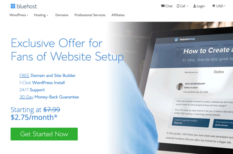 Bluehost, HOW TO HOST A WEBSITE