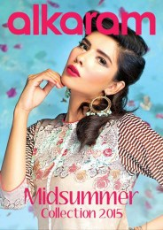 Alkaram Studio Eid ul azha Lawn Collection 2015 for Women