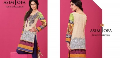 Asim Jofa Tunic Kurti Spring Summer Collection 2016