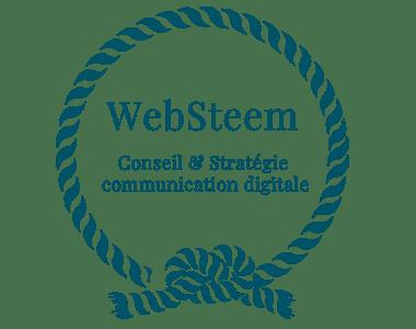 logo WebSteem, conseil & stratégie en communication digitale