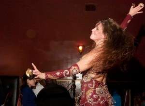Senior Middle Eastern studies major Noelani Kelly has been belly dancing since she was 14, saying it promotes confidence for herself and women. - JOSHUA MAASSEN