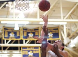 Drew Moore, Webster University men's basketball