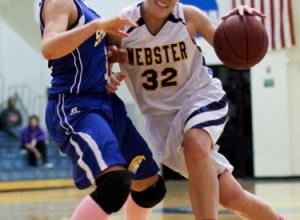 Megan Willett Webster women's basketball