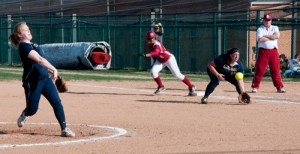 Trisha Thompson, Webster University softball