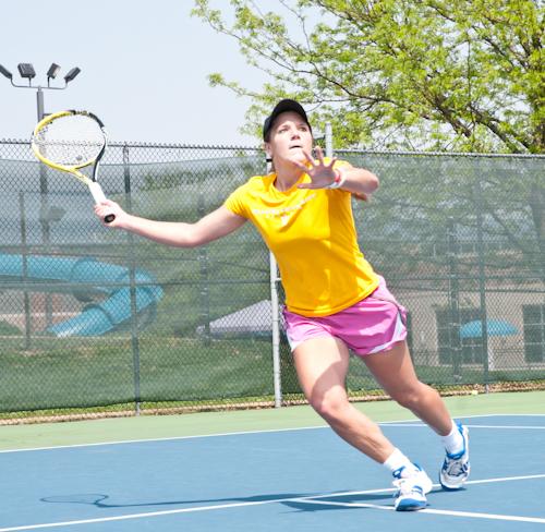 Lindsey Hays, Webster women's tennis