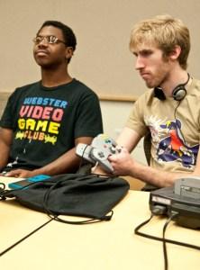 Webster University Video Game Club members