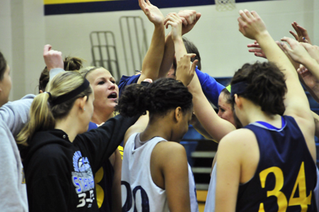 Webster University women's basketball