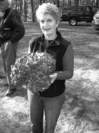 Photo Contributed by Maxine Stone Maxine Stone holds a Grifola frondosa or Hen of the Woods mushroom. Stone is a Webster Groves resident and past president of the Missouri Mycological Society.