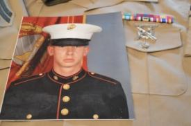 Tim Schneidewind's official Marine photograph. / photo contributed by Tim Schneidewind