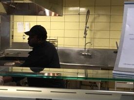 Chef Tim Brown said the renovations were both helped and made his job more difficult.