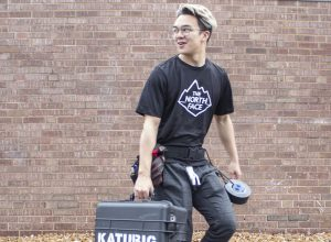Katubig and his team leave for the challenge April 9.