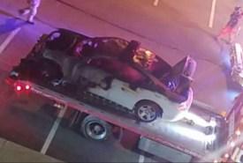 Stuck Public Safety car catches fire - Webster Journal