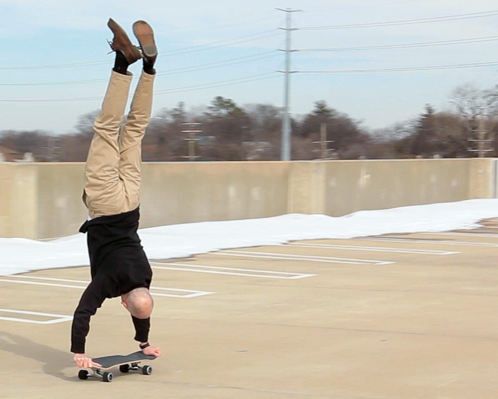 Professor impacts students with skateboard skills in and out of classroom