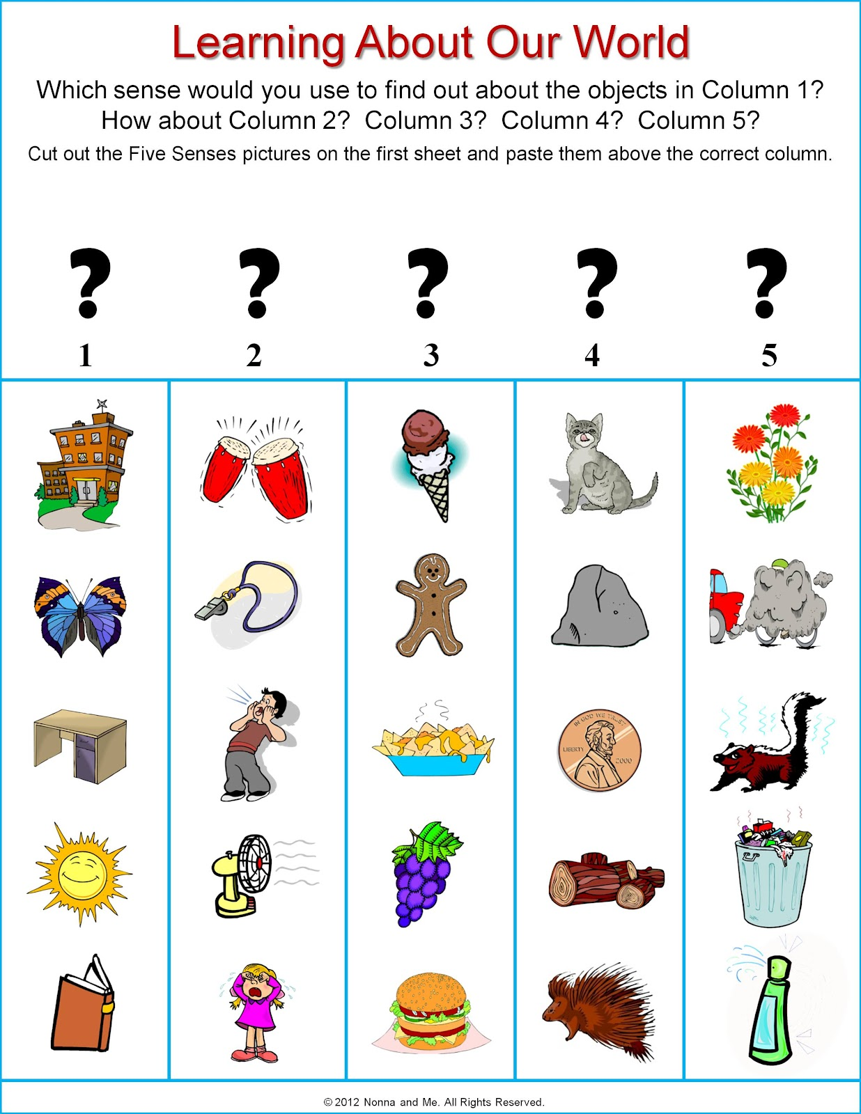 5 Senses Clipart Grade 1 5 Senses Grade 1 Transparent