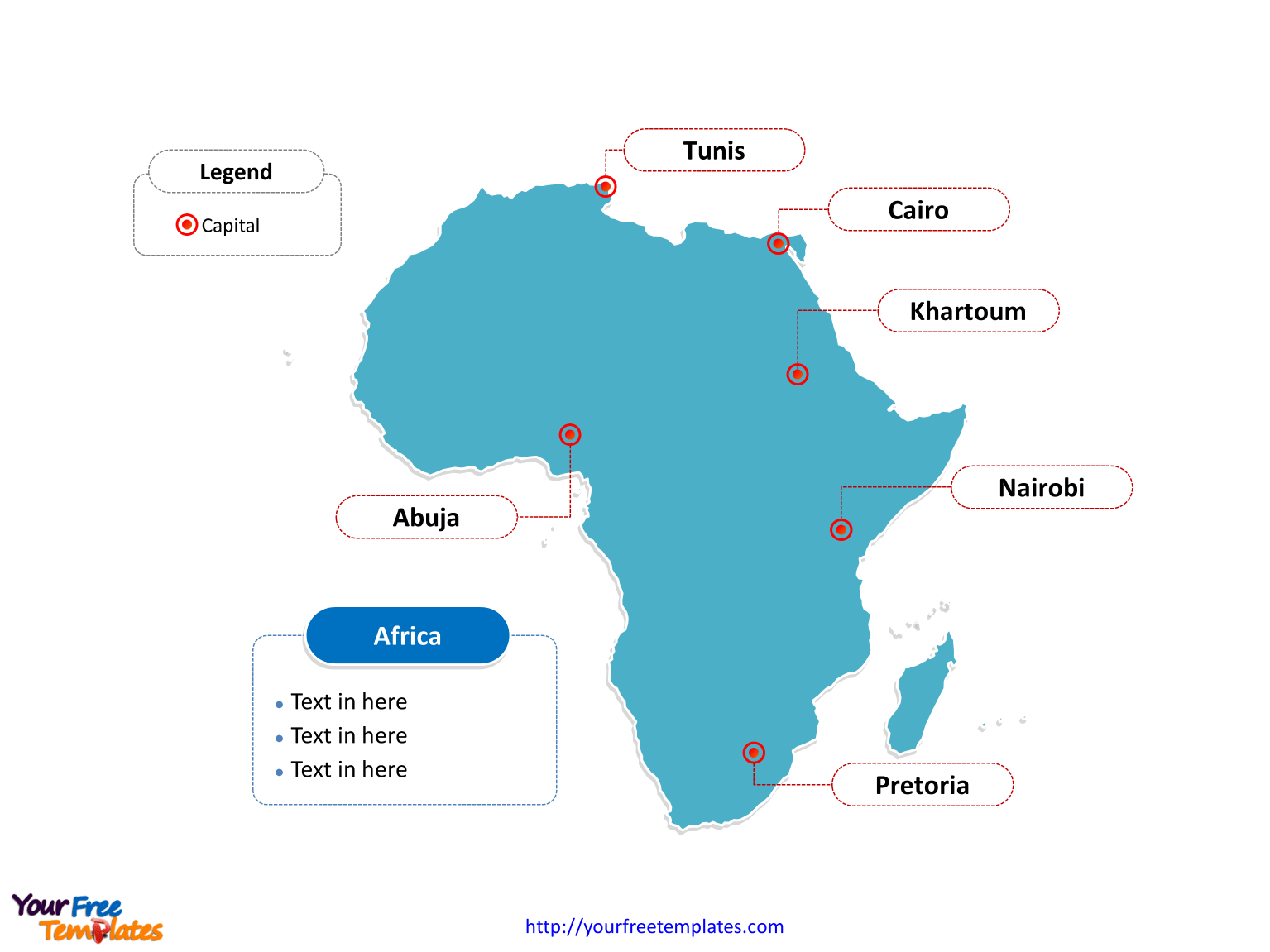 Africa Clipart Labelled Africa Labelled Transparent Free