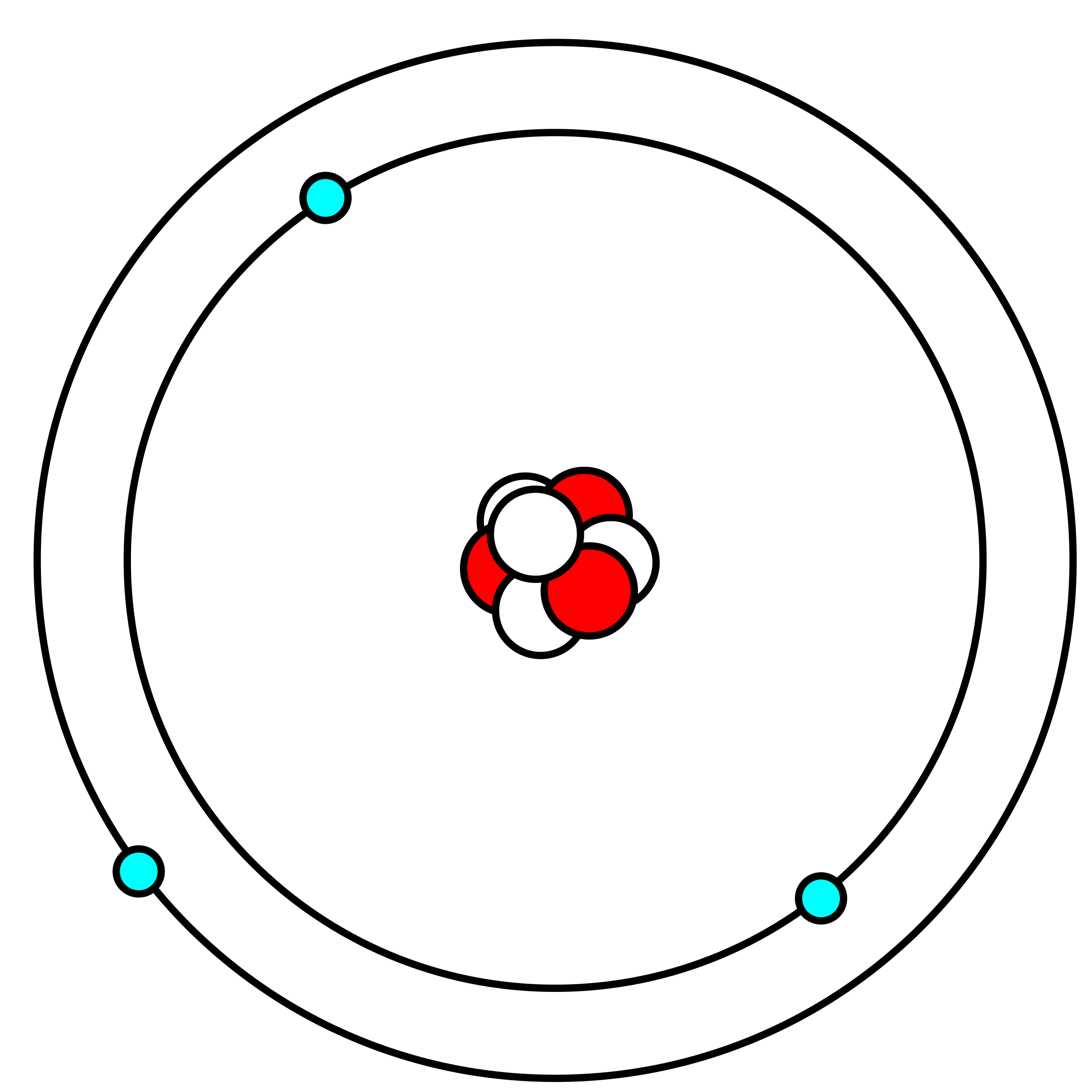 Atom Clipart Bohr Model Atom Bohr Model Transparent Free