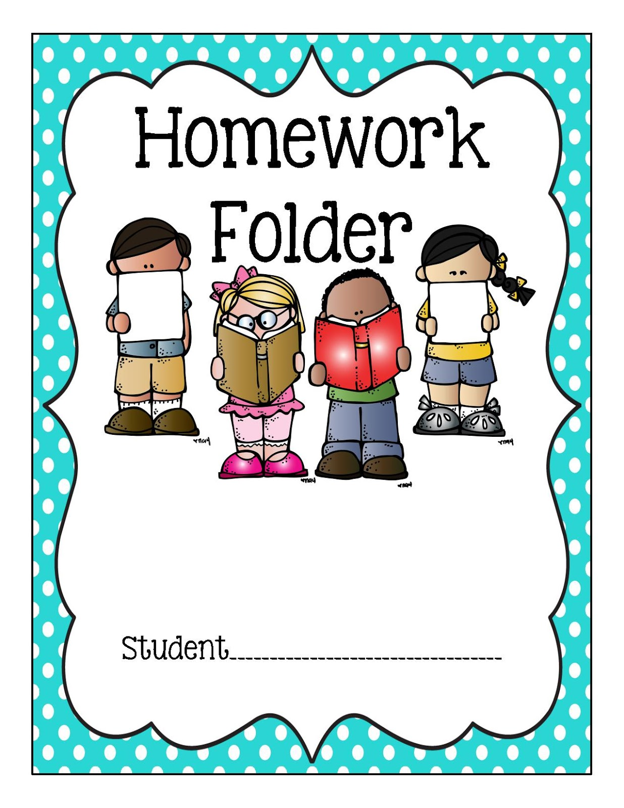 Binder Clipart Homework Binder Homework Transparent Free