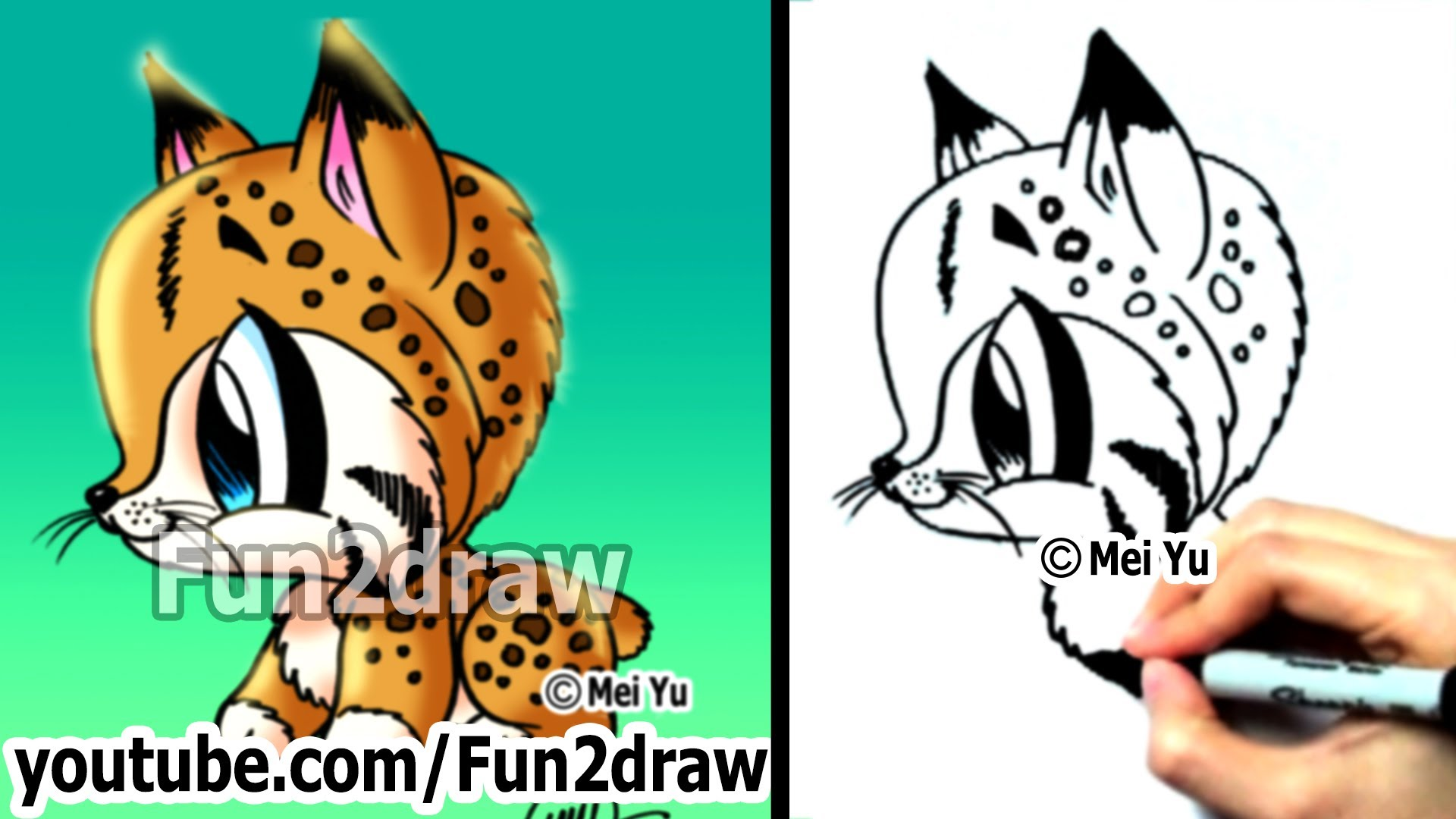 Bobcat Clipart Baby Bobcat Baby Transparent Free For
