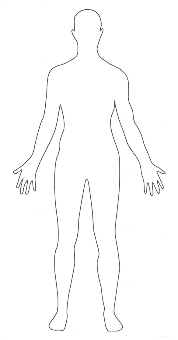 Body clipart simple human, Body simple human Transparent ...
