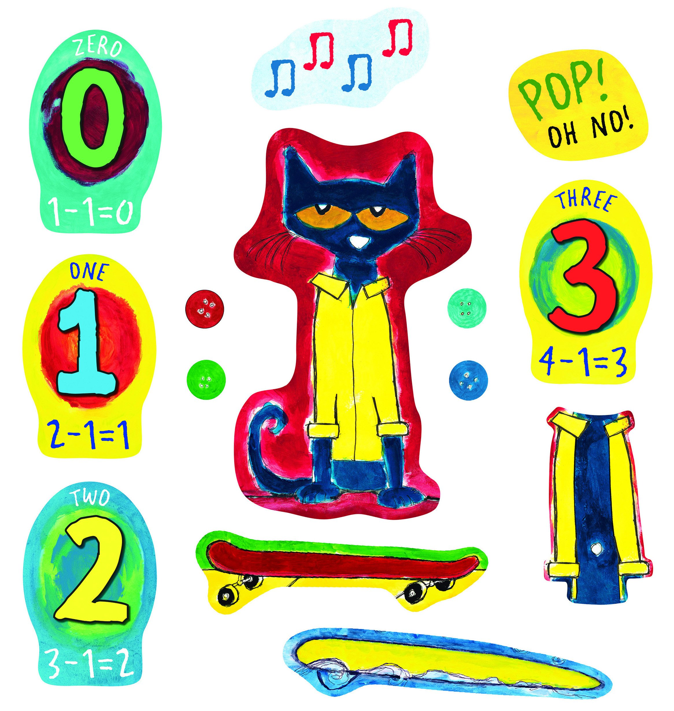 Buttons Clipart Pete The Cat Buttons Pete The Cat