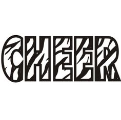 Download Cheer clipart word, Cheer word Transparent FREE for ...