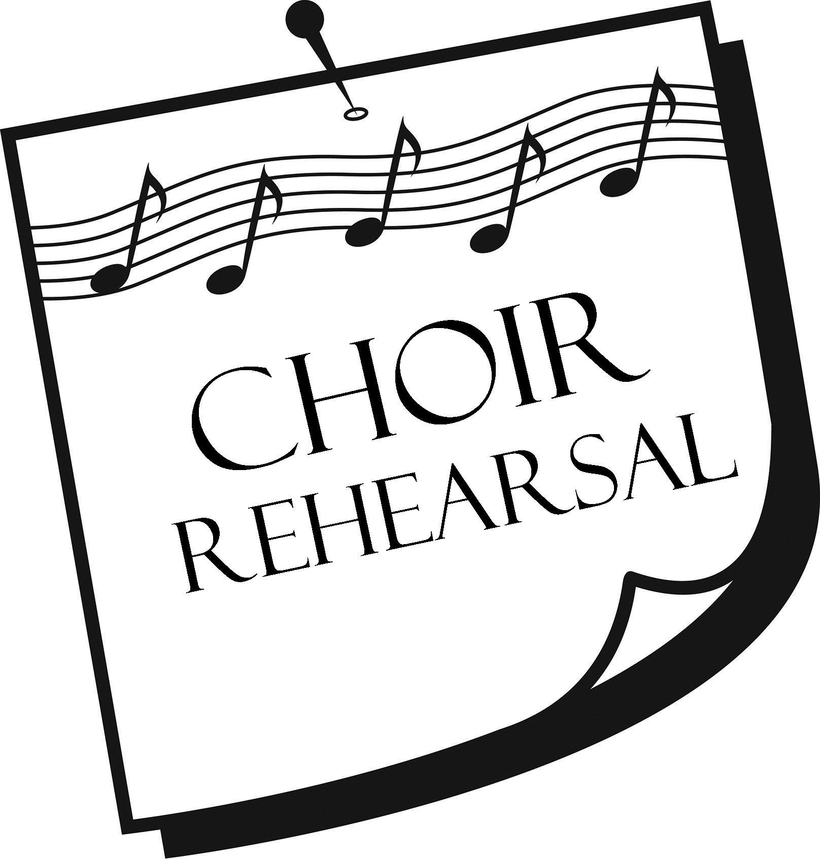 Choir Clipart Choir Rehearsal Choir Choir Rehearsal