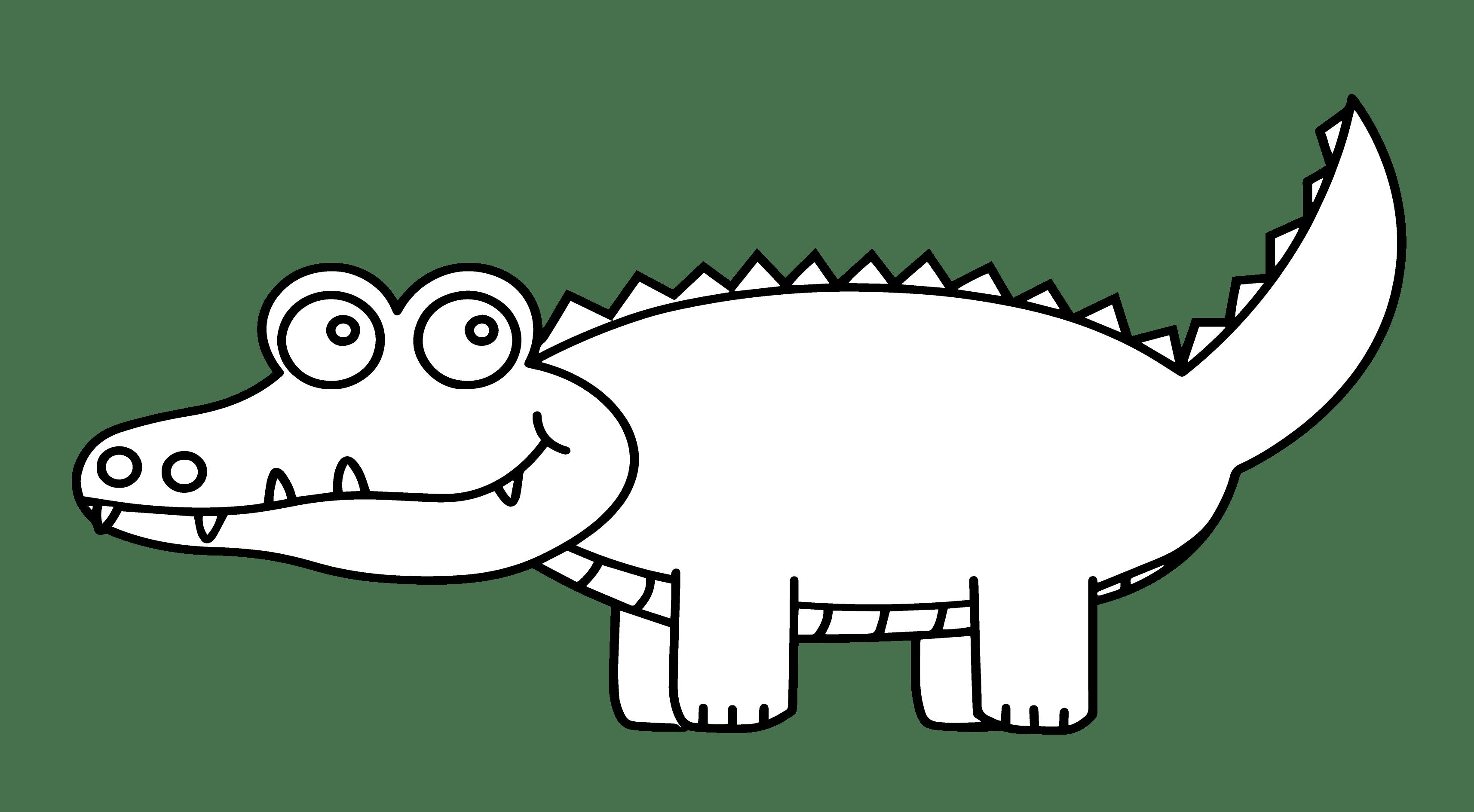 Clipart Alligator Simple Clipart Alligator Simple