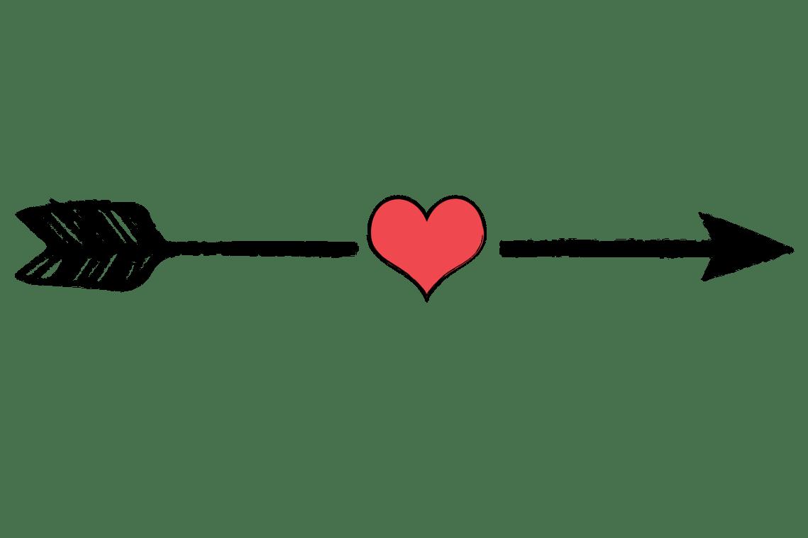 Download Clipart arrows heart, Clipart arrows heart Transparent ...
