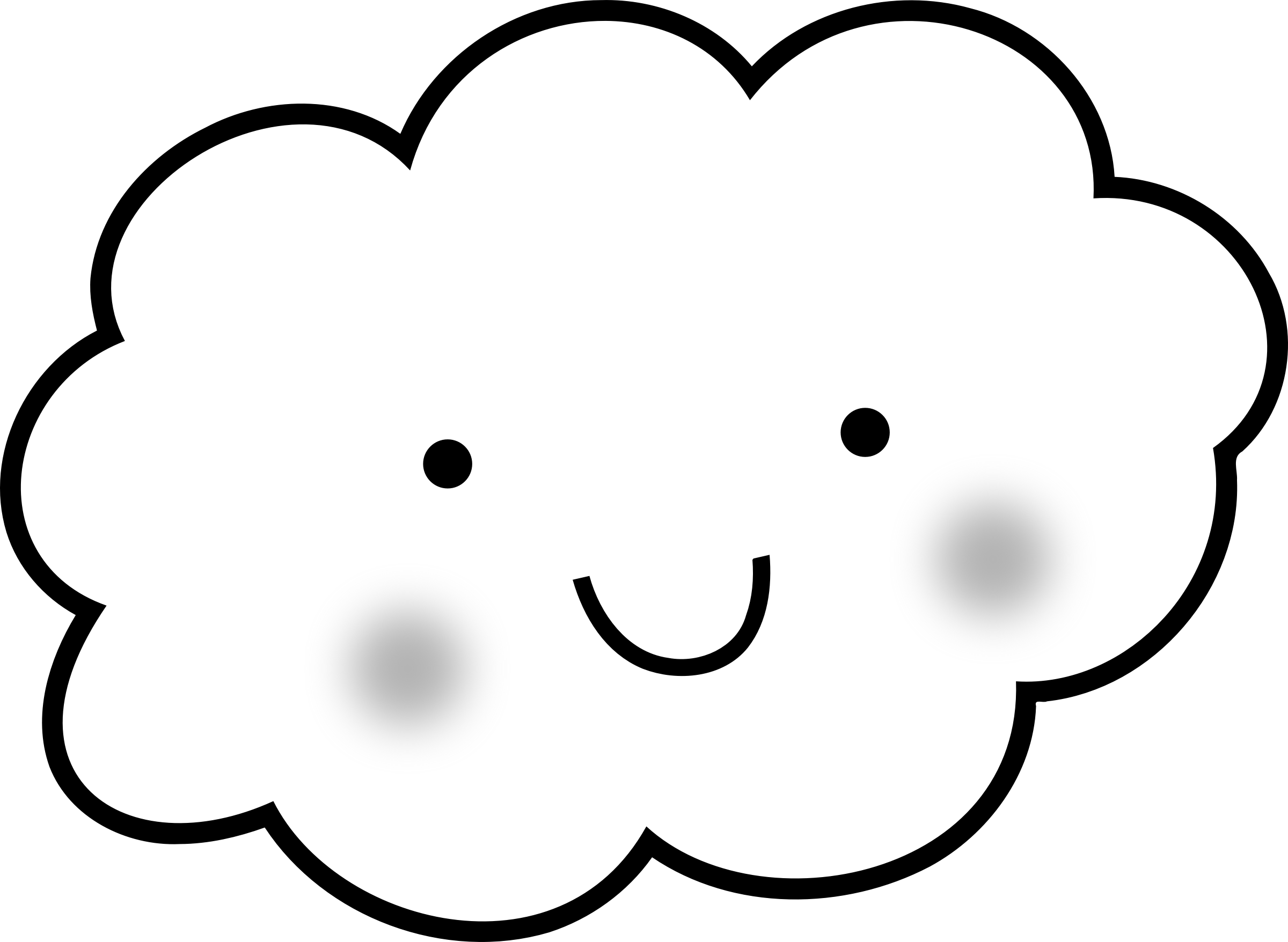 Clipart Cloud Colouring Page Clipart Cloud Colouring Page