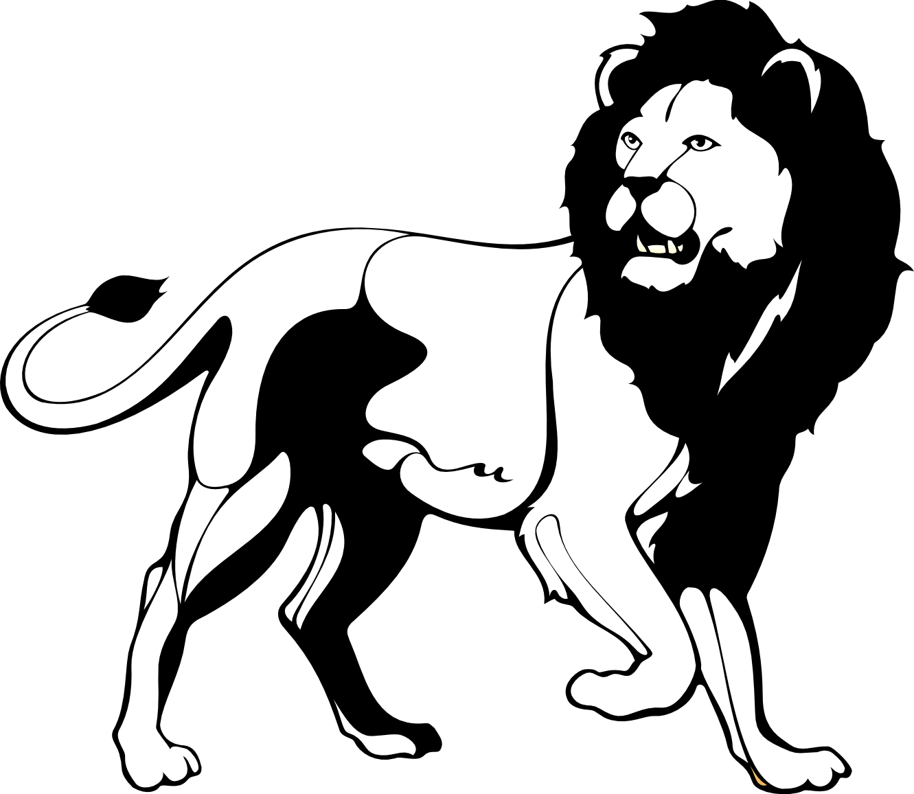 Clipart Crown Lion Clipart Crown Lion Transparent Free