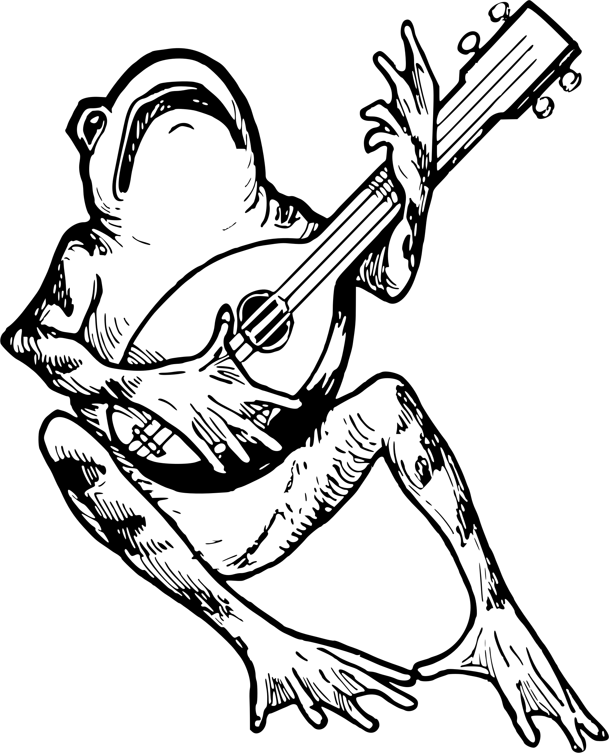 Frogs Clipart Sketch Frogs Sketch Transparent Free For