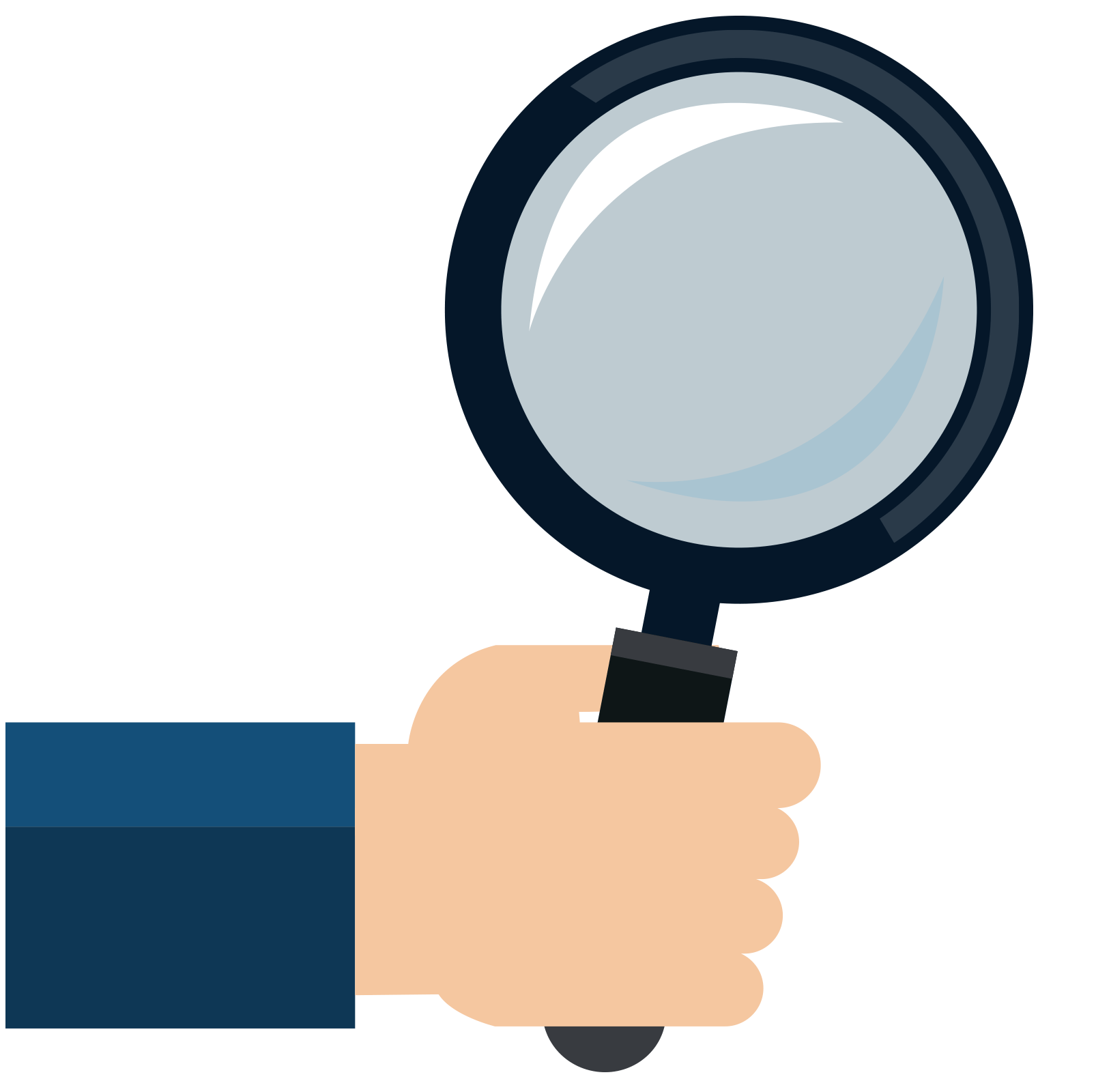 Computer Clipart Magnifying Glass Computer Magnifying