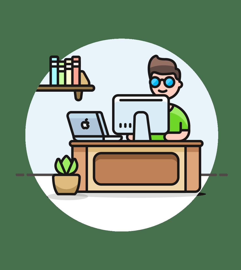 Desk Clipart Work Icon Desk Work Icon Transparent Free